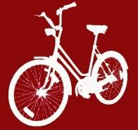 Bicicletada durante la huelga general
