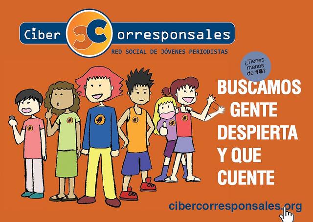 Dibujos para el folleto de Cibercorresponsales