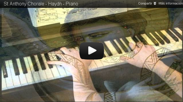 """""""Saint Anthony Chorale"""", Haydn (piano solo)"""