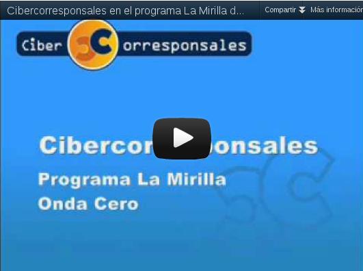 Cibercorresponsales en Onda Cero