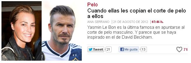El pelo corto es de chicos, según El País