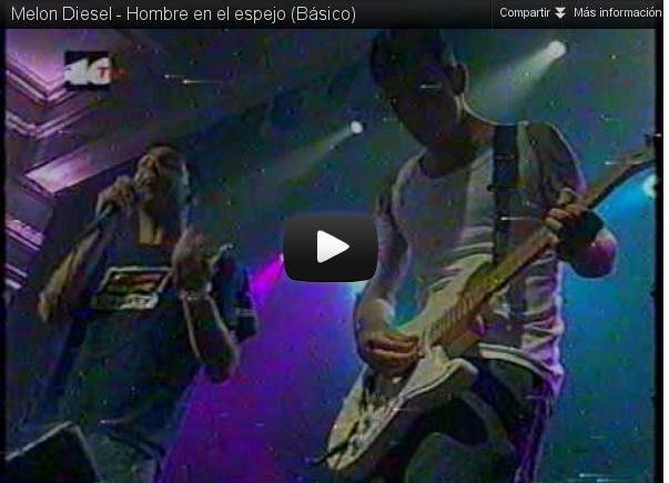"""""""Hombre en el espejo"""", Melón Diesel"""