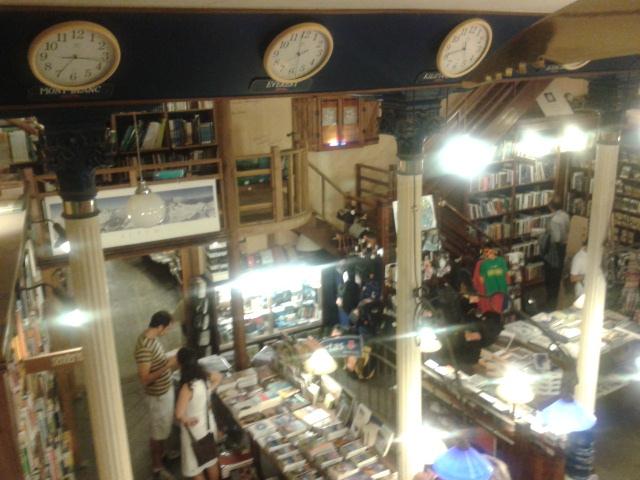 Un rincón precioso en Madrid: librería Desnivel
