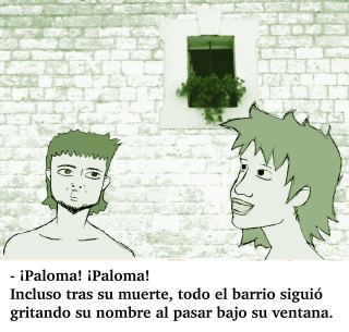 """Microcuento ilustrado: """"¡Paloma! ¡Paloma!"""""""
