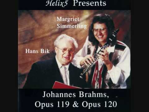 """""""Intermezzo, Andantino un poco agitato"""", Brahms"""