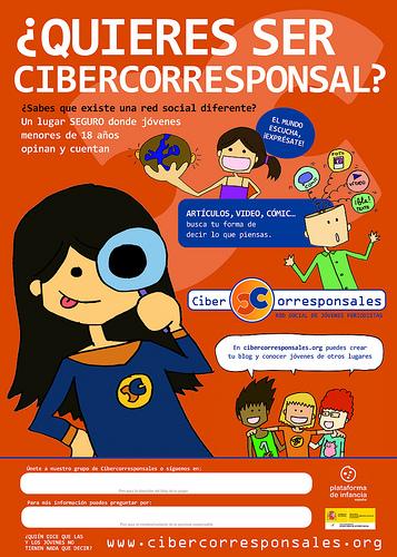 Nuevo cartel de Cibercorresponsales