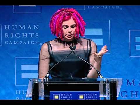 El espectacular discurso de Lana Wachowski al recibir el premio a la Visibilidad LGTB del Comité de Derechos Humanos