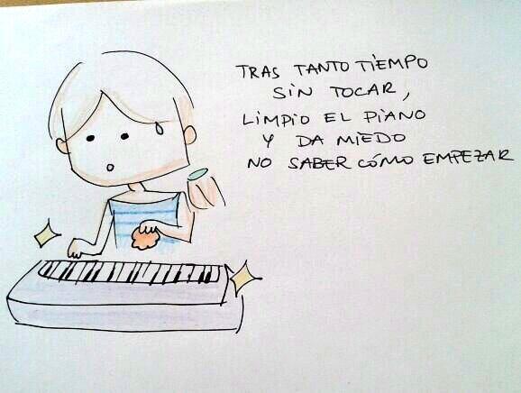 limpieza piano