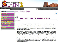Jaén ya tiene web