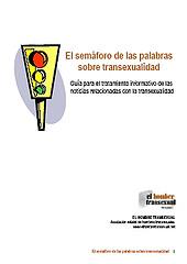 Presentación de El Semáforo de las Palabras sobre Transexualidad