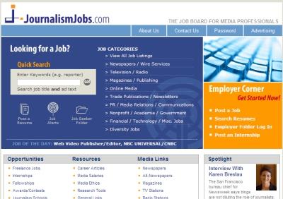 Journalism Jobs, empleo para periodistas
