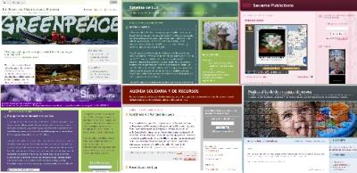 Blogs del alumnado del taller online 'Blogs para activistas y ONG'