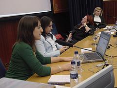 Apuntes mesa blogs y mujer La Conversación