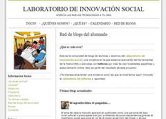 Red de blogs de participantes en el Laboratorio