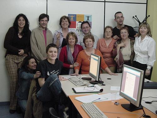 Foto recuerdo del taller en San Fernando de Henares