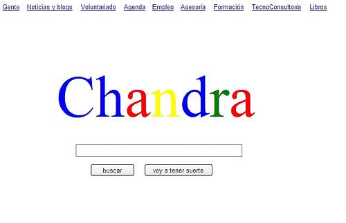 ¿Cómo sería Chandra si fuera como Google?