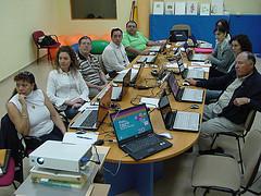 Marchando un taller de TIC para voluntariado en Utrera