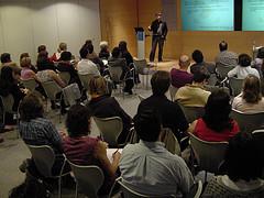 Presentación de GNU Social de la asociación Semilla e IBM