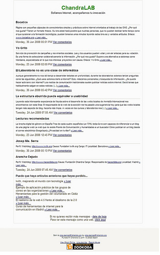 Zookoda como herramienta gratuita para el envío de boletines