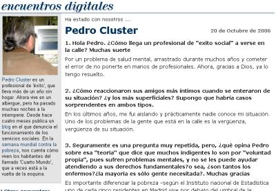Encuentro digital con Pedro en elmundo.es