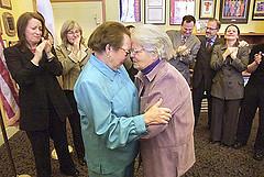 Fallece Del Martin. Dos meses de un matrimonio que costó 50 años