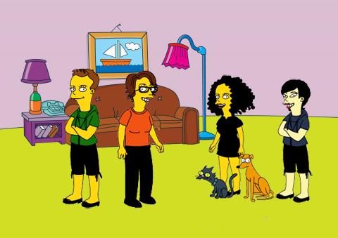 La familia al completo