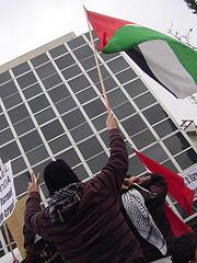 Concentración en Madrid por los ataques en Gaza