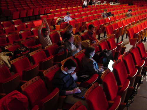 Nómadas en busca de la wifi