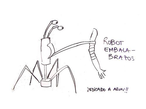 Robots embala-brazos y cuenta minutos de clavel