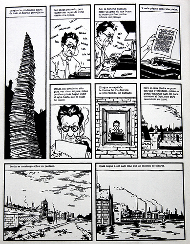 """""""Berlín, ciudad de piedras"""", Jason Lutes"""