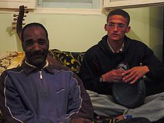 Música argelina en casa