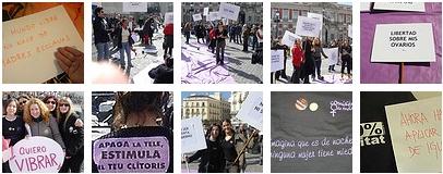Más manifestantes por los derechos de las mujeres