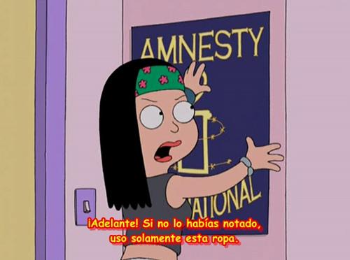 Hayley se hace de Amnistía Internacional