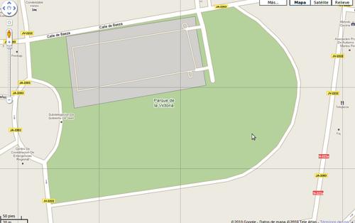 Anatomía del parque de la Victoria de Jaén