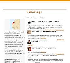 Sahablogs, planeta de blogs sobre Sahara Occidental