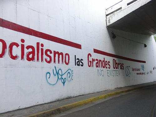 Pintadas y guerrilla comunicacional en Venezuela