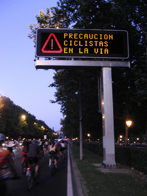 Fotos de la bicicrítica de julio de 2010