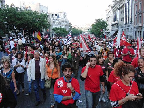 29-S: cobertura personal de la huelga
