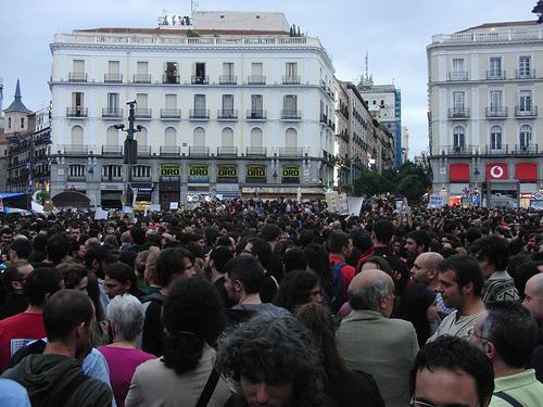 Concentración en Madrid contra la estafa global (miércoles 18)