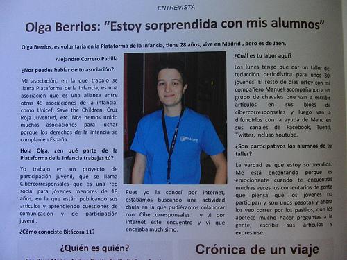 #bitácora11 Me entrevistan en el Cuaderno de Bitácora