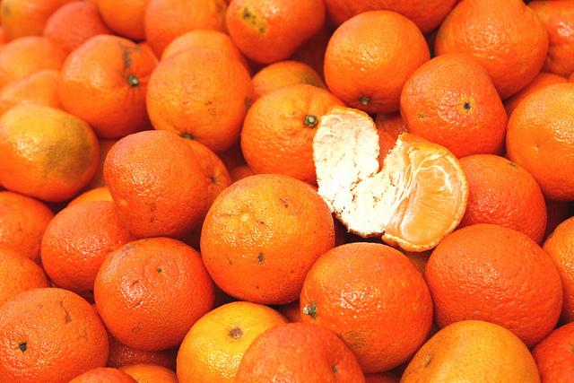"""""""¡Prueba las mandarinas de mi vecina!"""""""