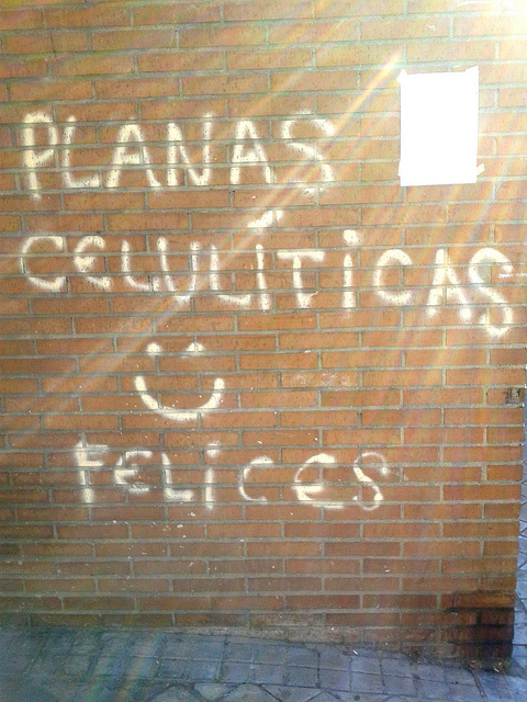 Planas celulíticas :) felices