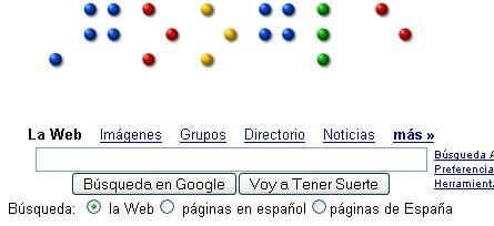 Google en braille