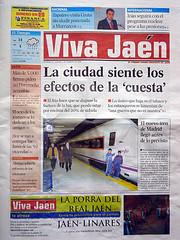 Tenemos la portada del 'Viva Jaén'
