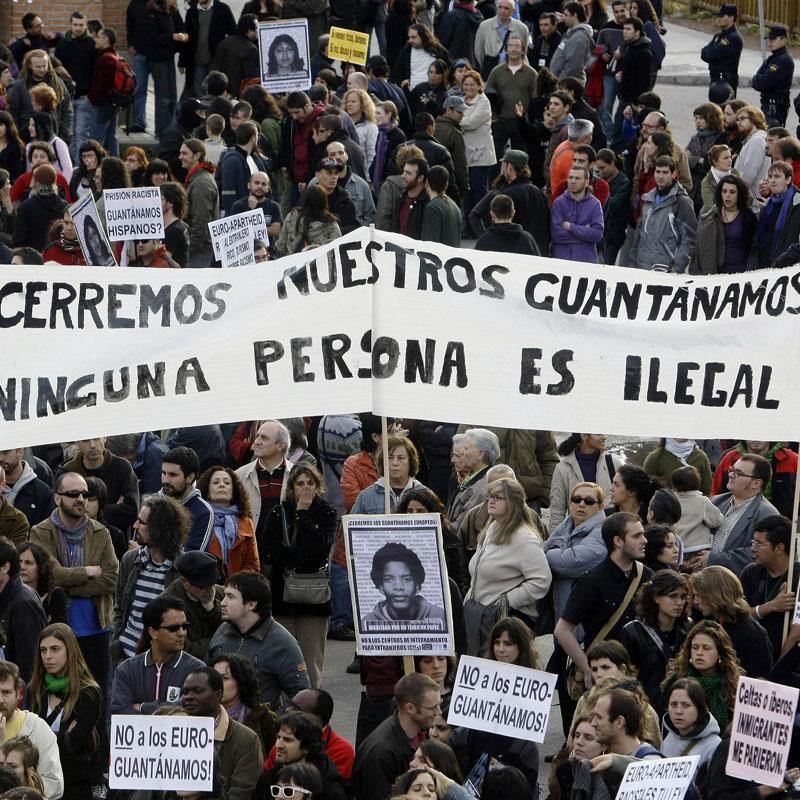 Domingo 4 de marzo: concentración por el cierre de los CIEs