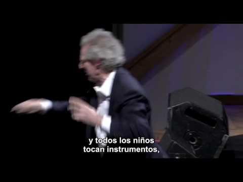 """Vídeo TED: """"Música con los ojos brillantes"""", Benjamin Zander"""