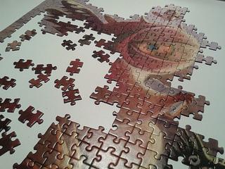 ¿Cómo va el puzzle?