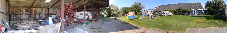 Holanda en bici: los cámping-granja