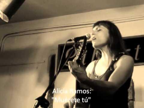 """""""Muérete tú"""", Alicia Ramos"""