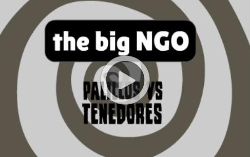 """The big NGO: """"Capítulo 1. Palillos VS tenedores"""""""